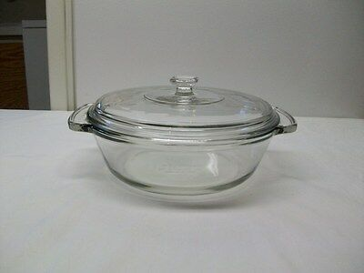 Anchor Hocking 2 Quart Covered Casserole Dish