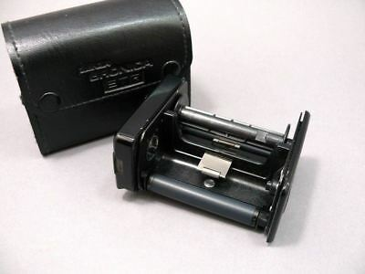 Bronica ETR 220 roll film insert only with case.