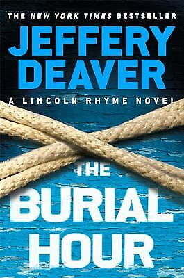 The Burial Hour  (ExLib) by Jeffery Deaver