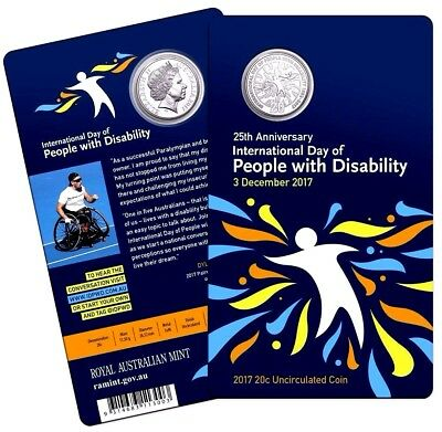 2017 20c 25th Anniversary of International Day of People with Disability