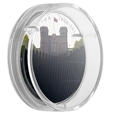 2 oz. .9999 Pure Silver Coin - 110th Anniversary of the Royal Canadian Mint 2018