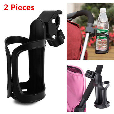 2 X Baby Stroller Cup Holder Drink Milk Bottle Holder For Stroller Pram Bicycle