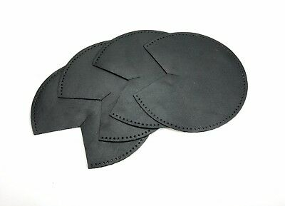 byhands Black Synthetic Leather Patch for Bag Corner