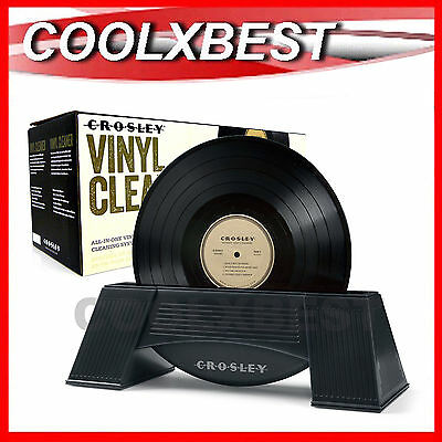 Crosley Vinyl Lp Record Cleaner Spin Cleaning Clean System 33 45 78Rpm