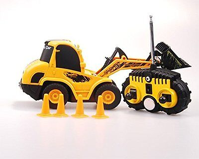 1:20 Scale 6 Channel RC Mini Bulldozer Electric RTR RC Construction Vehicle