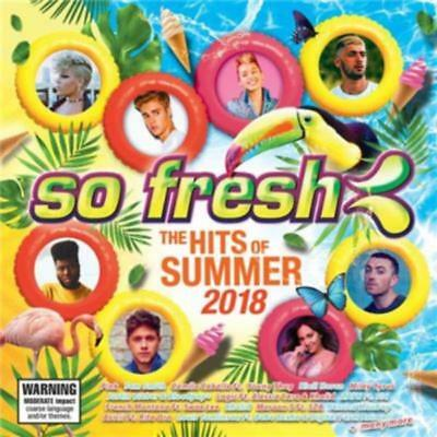 SO FRESH The Hits Of Summer 2018 - Various Artists CD *NEW* 2017