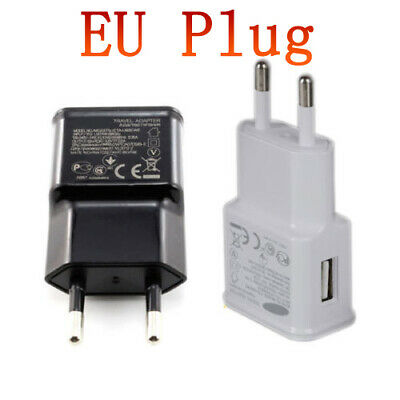 EU Plug 2A Wall Mains Charger USB AC Power Adapter for Samsung Galaxy S S5 S6 S7