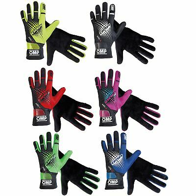 OMP KS-4 Kids Youth Children's Go-Kart Karting Race Racing Track Driving Gloves