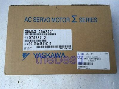 1 PC New Yaskawa SGMAS-A5A2A21 Servo Motor In Box