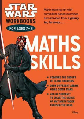 Star Wars Workbooks: Maths Skills - Ages 7-8 by Scholastic, Book The Cheap Fast