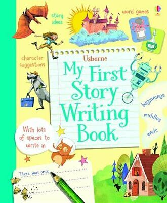 My First Story Writing Book by Louie Stowell Book The Cheap Fast Free Post