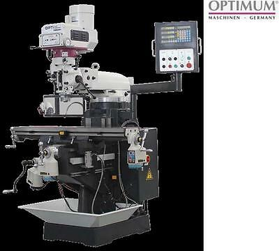Optimum Germany Turret Milling Machine Tmm400V