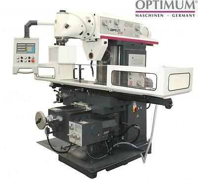 Optimum Germany Universal Milling Machine  Horizontal/vertical Mt200