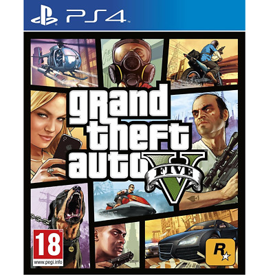GTA5 GTAV Grand Theft Auto V (GTA V) PER Play Station 4 GTA 5 PS4