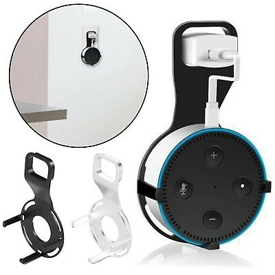 Wall Mount Holder Bracket Stand For Amazon Echo Dot 2nd Generation w/Alexa