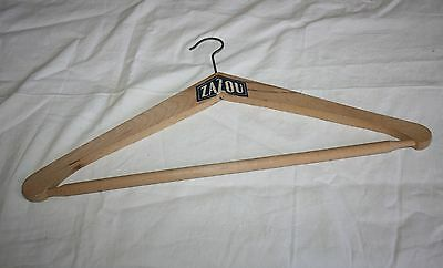 Vintage 30's & 60's Hangers Wooden Different Models. Shops, Store