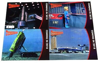 Thunderbirds 2018 Rare (100) Set of 4 Preview Cards by Unstoppable Cards #3/100
