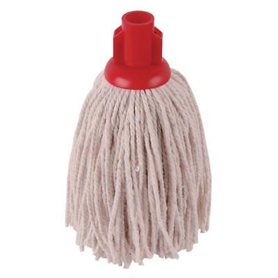2Work 12oz PY Smooth Socket Mop Red Pack of 10 PJYR1210I