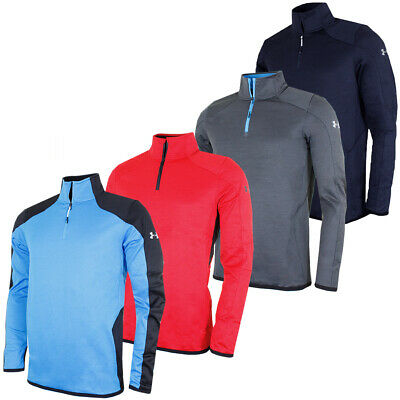 Under Armour Mens Reactor 1/4 Zip Pullover Sweater Jumper Pullover 36% OFF RRP