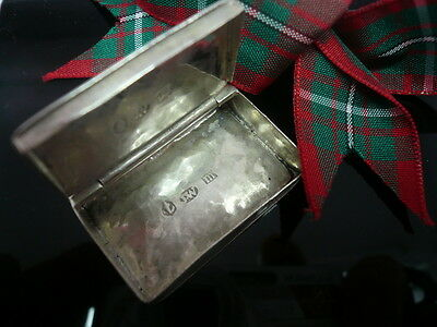 Silver Vinaigrette, Sterling, Antique, English, Hallmarked 1810, Joseph Willmore