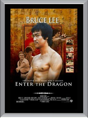 Bruce Lee Enter The Dragon A1 To A4 Size Poster Prints