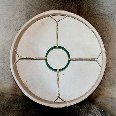 "12"" Shamanic Drum, Sami Reindeer Hide on Ash Hoop - with beater"
