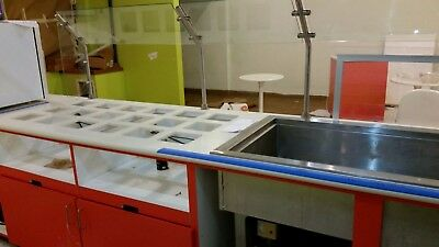 Wells RCP-300 Cold Food Unit drop-in mechanically cooled 3-pan size with drain