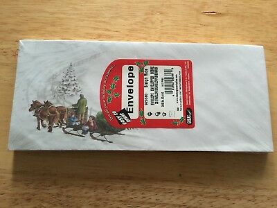 Great Papers! Masterpiece SLEIGH RIDE #10 Christmas Holiday Envelopes Pack/25