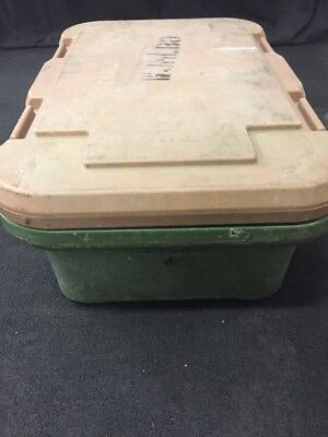 """CAMBRO Camcarrier Food Storage Pan Container Carrier UPCS160 6"""" Deep #4 See Des"""