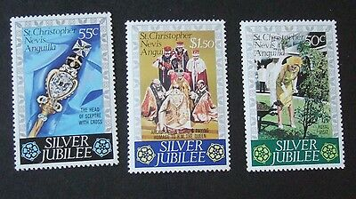 St Christopher Nevis Anguilla 1977 Silver Jubilee MNH UM unmounted mint