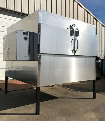 "Insulated 48"" x 60"" Rotisserie Smoker - Call Before You Buy"