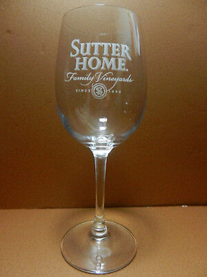 Sutter Home Family Vineyards Stemmed Wine Glass