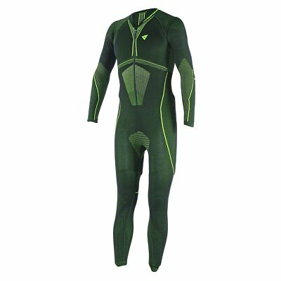 Dainese D-Core Dry Mens Base Layer Suit Black/Fluo Yellow