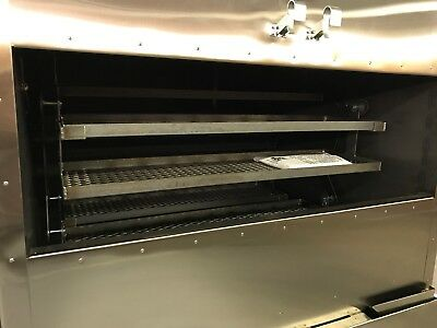 "Insulated 48"" x 48"" Rotisserie Smoker - Call Before You Buy"