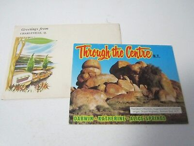 Through the Centre NT Northern Territory Darwin Katherine Alice postcard