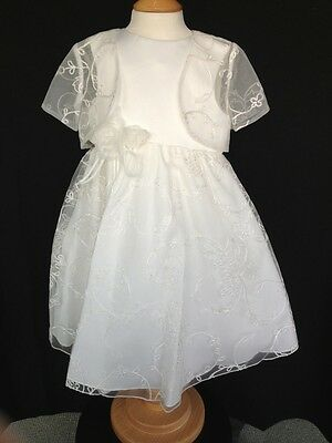 BNWT Girls Occasional  2 Piece Dress By Sarah Louise -18 Mths **MID SEASON SALE*