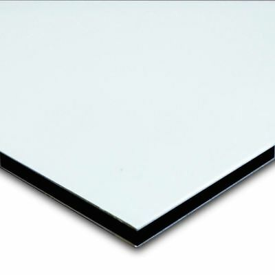 "Aluminum Composite Sheet - Sign Panel 1/8"" x 12"" x 24"" (Satin White) (5 Pack)"