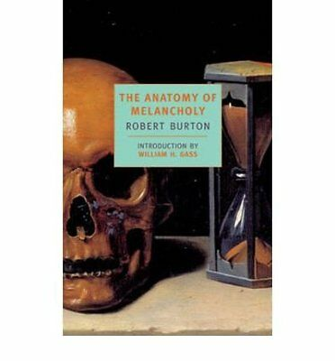 Anatomy Of Melancholy by Robert Burton New Paperback Book
