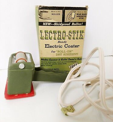 Vintage Lectro-Stik Electric Coater in Box Used