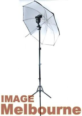 Strobist Kit Light Stand Umbrella & bracket for speedlight flash continuous LED