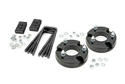 Rough Country  Front End Leveling Kit W Rear Blocks   Ford