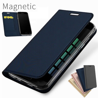 Magnetic Leather Wallet Flip Case Cover For Samsung Note 10 Plus J5/J7 Pro S10 9