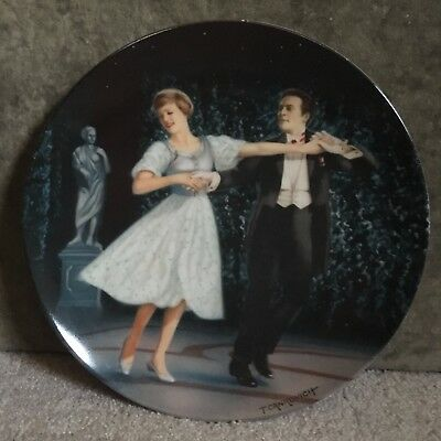 """Sound of Music """"Laendler"""" Knowles collectors plate 4th of 8 w/COA"""