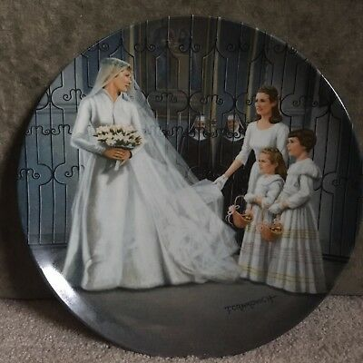 """Sound of Music """"Maria"""" Knowles Collector Plate 7th of 8 w/COA"""