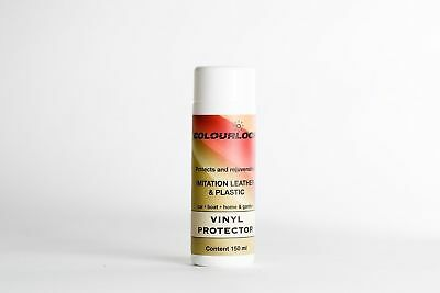 COLOURLOCK Faux Leather Protector - conditioner for artificial leather leathe...