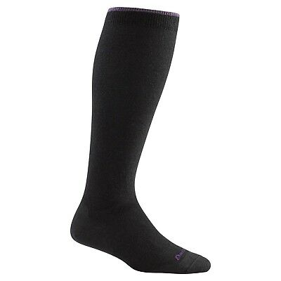 Darn Tough Women's Solid Knee High Light Socks Black Small