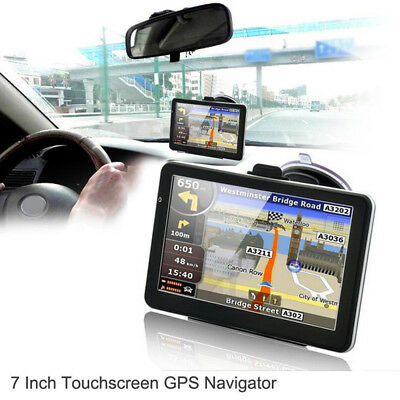 """7"""" HD Touch Portable Truck/Car GPS Navigator Navigation with Free Lifetime Maps"""