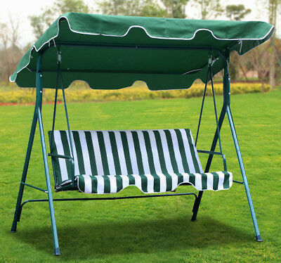 Outdoor Swing Recliner Chair Garden Sun Bed Hammock Daybed Shade Canopy Patio