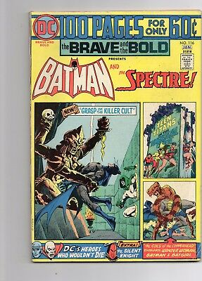 Brave and the Bold 100 page #113, 114, 116 Spectre, Metal Men, Aquaman