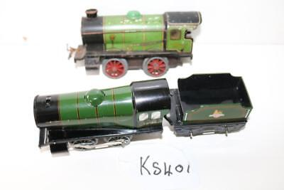 Hornby X 2 Locos And 1 Tender For Repair Or Parts Ks401